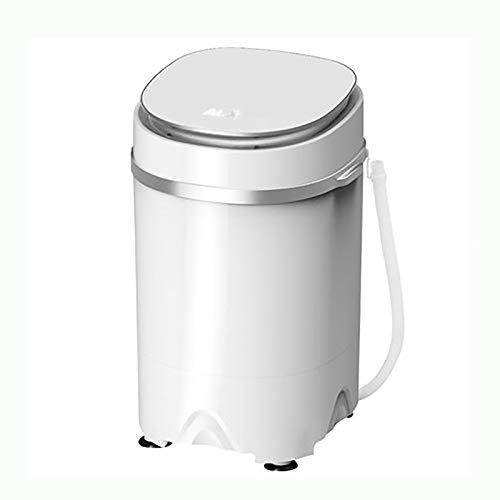 psy Lavadora Portátil Mini Lavadora para El Hogar Lavadora Semiautomática, Caja De Elución Integrada Espesada A Prueba De Humedad Ahorro De Energía Y Ahorro De Energía(220V)