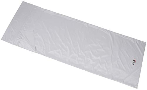 MFH Drap de Sac de Couchage Arber léger Micro-Fibre 215 x 75 cm (Gris)