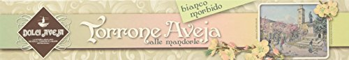 Dolci Aveja - Torrone Bianco Tenero Alle Mandorle - 4 Pezzi da 180 gr