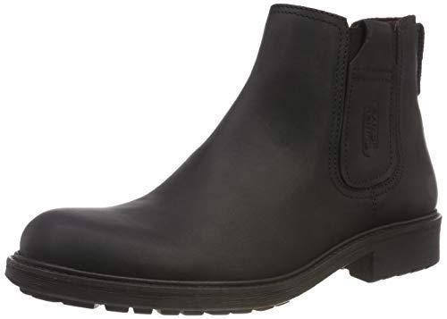 camel active Herren 15 Chelsea Boots, Schwarz (Black 2), 41 EU (7.5 UK)