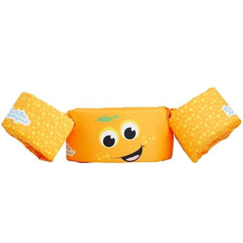 Sevylor Schwimmflügel Puddle Jumper für Kinder und Kleinkinder von 2-6 Jahre, 15-30kg, Schwimmscheiben, orange