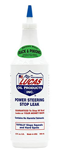 Lucas Oil 10011 Power Steering Stop Leak, 1. quarts