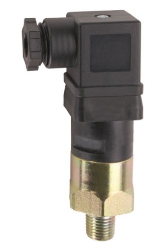 Gems Sensors 209377 General Purpose Mini Pressure Switch with Zinc-Plated Steel Fitting, 125/250V, 1000-3000 psi Pressure, 1/4
