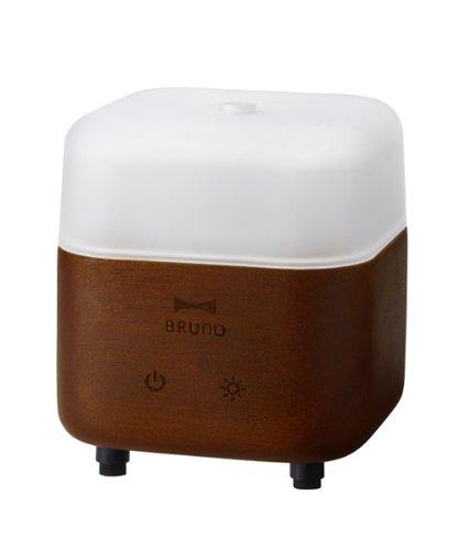 BRUNO ウッドアロマディフューザー スクエア BOE013-DBR