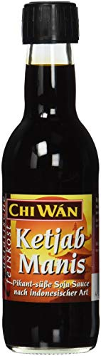 Chi Wán Ketjab Manis pikant-süße Soja Sauce nach indonesischer Art Flasche (1 x 250 ml)