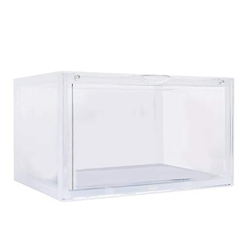 JsJr-K-In Caja de almacenamiento transparente para zapatos de acrílico