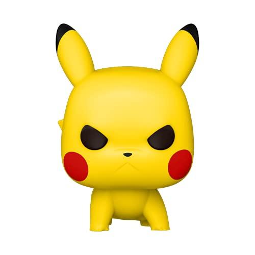 Funko Pop! Games: Pokemon - Pikachu (Attack Stance) Figura de vinilo coleccionable