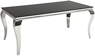 Casa Padrino Baroque Table Silver 140 x 60 cm - Dining Table ...