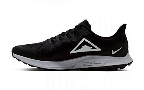 Nike Men's Air Zoom Pegasus 36 Trail Running Shoes, Multicolour (Oil Grey/Barely Grey-Black-Wolf Grey 002), 7 UK