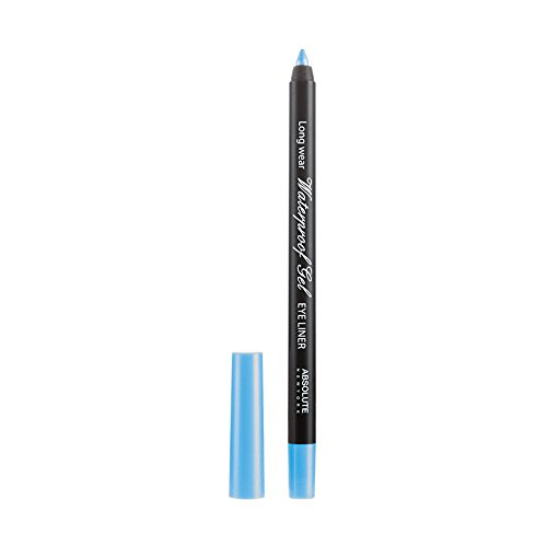 Absolute New York Waterproof Gel Eye Liner - blau, 1 Stück