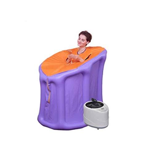 Upupto Aufblasbare Dampfsauna-Raum-aufblasbare Zelt-Dampfer-Familie tragbare nasse Sauna entspannende Sauna-Schweiß und Entgiftung