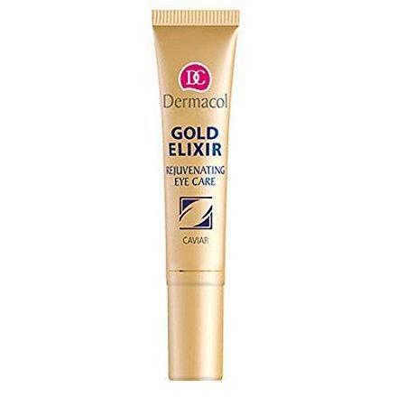 Dermacol Lot de 2 masques cosmétiques pour le visage Doré élixir perle Elixir Crème pour les yeux Visage Soin des mains
