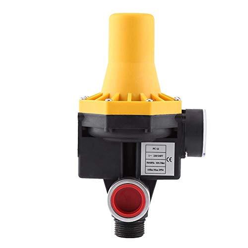 Pumptrol - presione el control Controlador electrónico de bomba de agua, presión de agua de 220 V ~ 240 V, válvula de agua de potencia de bomba, color dorado