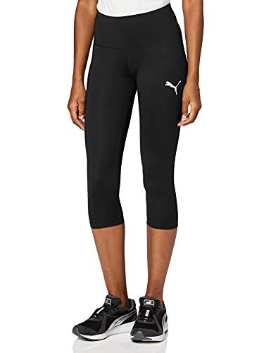 PUMA Active 3/4 Leggings Pants, Mujer, Puma Black, L