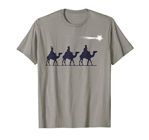 Los 3 Reyes Magos Regalo Familia Navidad para Cristianos Camiseta