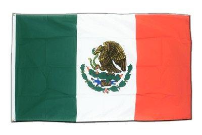 Bandera mejicana de Méjico, 90 x 150 cm, MaxFlags® - bandera - 90 x 150 cm
