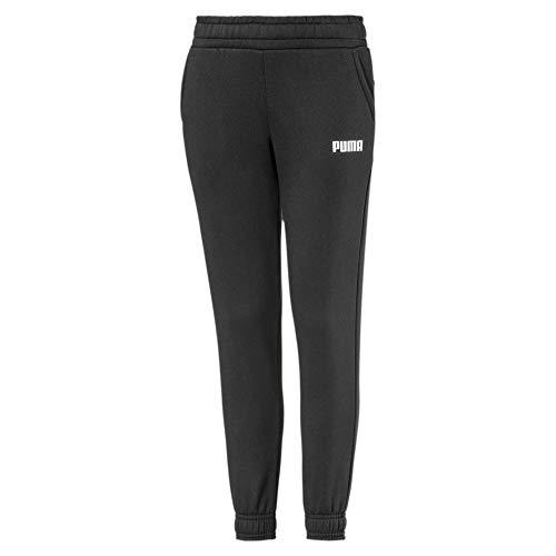 PUMA Essentials Jungen Fleece Sweatpants Cotton Black 152
