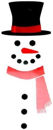 2021 Midwest-CBK online Snowman popular Refrigerator Magnet Set of 12 pieces sale
