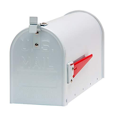 DEMA American Mailbox aus Alu, Weiß