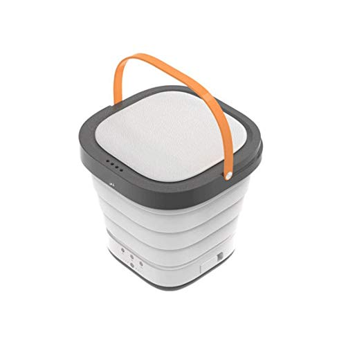 Lavadora Portátil Lavadora y secadora Portátil Ahorro de energía 40W Mini lavadora plegable para ropa de bebé Calcetines de ropa interior en apartamentos de viaje completamente automático para Viajes