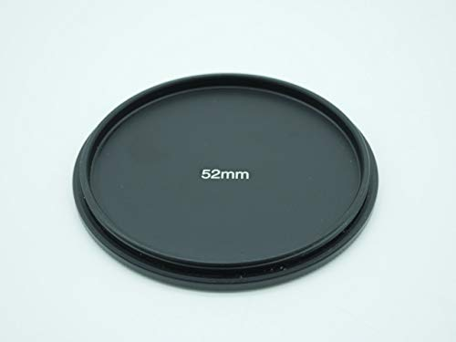【STOK】バックの中で外れないアルミ合金製ネジ込み式レンズキャップ (52mm)