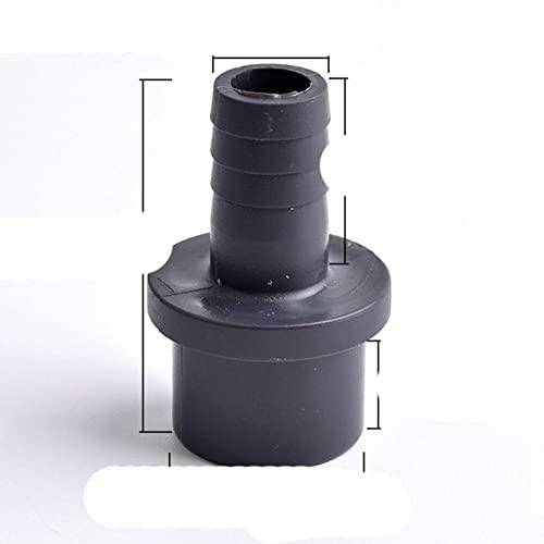 FSALFWUYIHDSF / 25-8/10/12/14/16/19/20 / 25mm Conector Pagoda Gris Oscuro Adaptador de Manguera de jardín Tubería de riego Accesorios de Junta de Manguera Suave-5 Piezas, 14mm