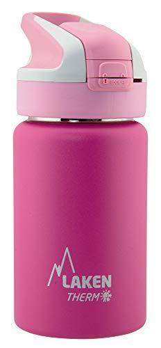 Laken Unisex - Termo para adultos con cierre de Summitverschluß 0,35 L, color rosa, tamano 0.35, 7.3 x 7.3 x 17.7centimeters