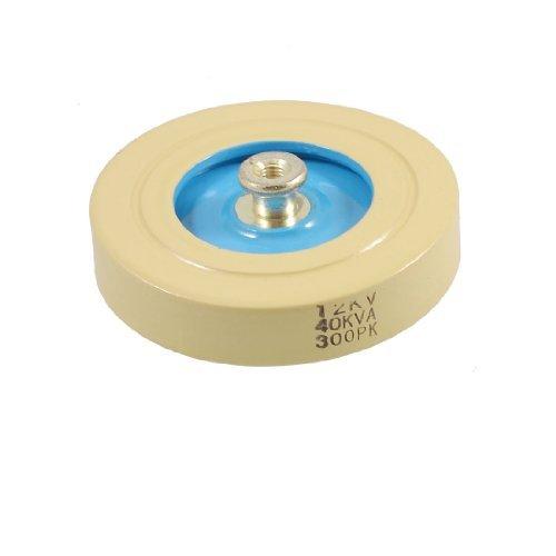 DealMux latón rosca 300pF HV de alta tensión del condensador 12KV 40KVA
