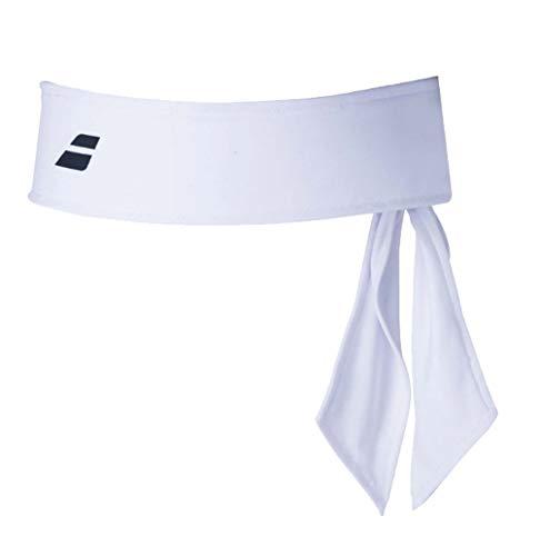 Babolat Tie Headband Unisex Erwachsene Einheitsgröße Weiß