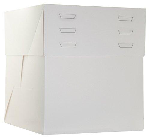 DeColorDulce SG2225 Caja con Tapa separada, cartón, Blanco, 65x25x5 cm, 10 Unidades
