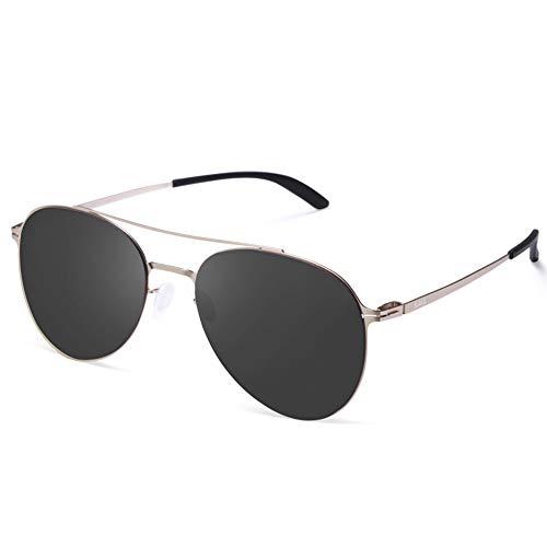 AVAWAY Hombre Mujer Gafas de Sol Espejadas UV400 Protección