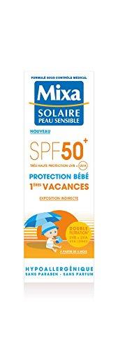 Mixa Sonnenschutz für Babys 1. Urlaub, Schutzfaktor 50+, 50 ml