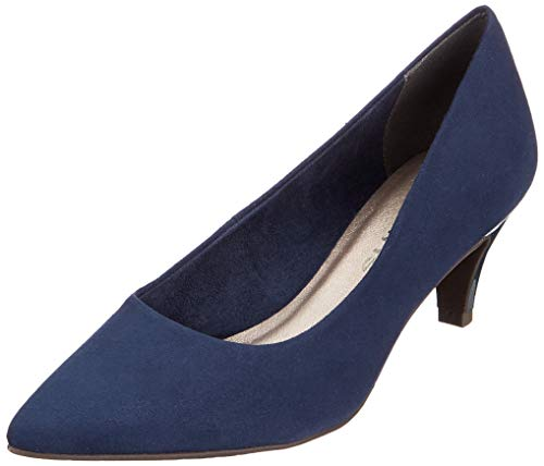 Tamaris Damen 1-1-22415-22 805 Pumps Blau (NAVY 805), , 39 EU