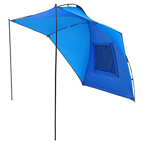 CLISPEED Toldo Refugio Solar Tienda de Remolque Impermeable Auto Dosel Carpa Techo para Viajes Al Aire Libre Playa Patio