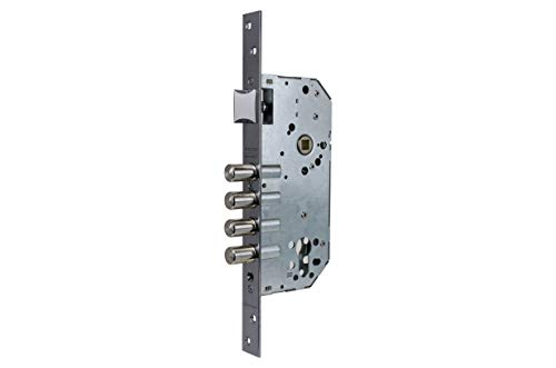 Tesa Assa Abloy R200B5SCAI Cerradura de Seguridad Monopunto sin Cilindro, Acero Inoxidable,...