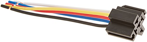 Absolute 5-Pin 12 VDC Relay Socket Interlocking Style