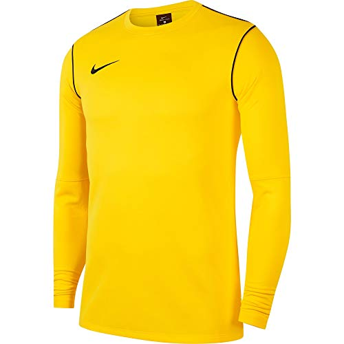 NIKE Sudadera para Hombre, Hombre, Camiseta, BV6875, Amarillo y Negro, Small