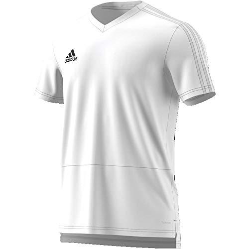 adidas Herren Condivo 18 Trainingstrikot, White/Black, L