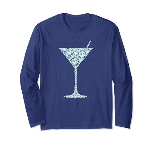 Martini Verre Liqueur Amant Cadeau De Boire De L'alcool Manche Longue
