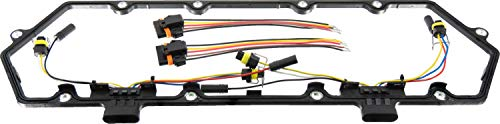 APDTY 726313 Valve Cover Gasket Kit w/Glow Plug Wiring Harness Replaces F4TZ-9D930-K