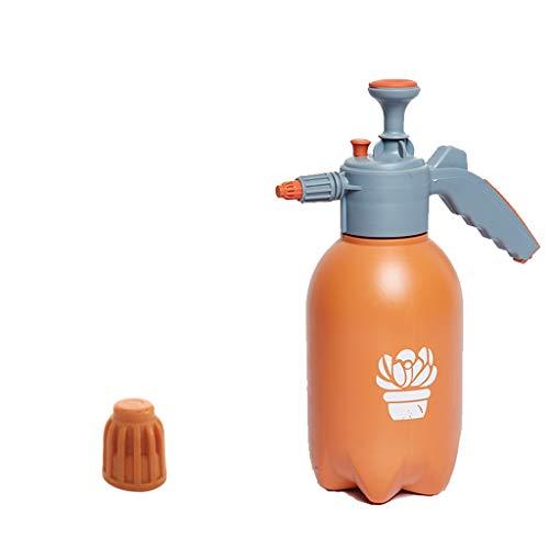 CREAM2ATE, WATERING CAN GCX- Regadera de 2 l para regar Botellas de jardinería, regadera de Flores, pulverizador, regadera pequeña, plástico, Naranja, A