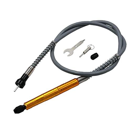 NiceCore Eje Flexible Adaptador de Varilla de perforación de la Manguera de extensión del Eje Multifuncional Cable para la Herramienta Amoladora Compatible Rotary