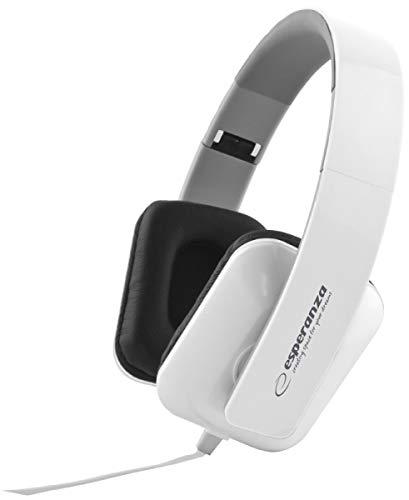 Esperanza EH137W Stereo Audio Kopfhörer Jazz Weiß
