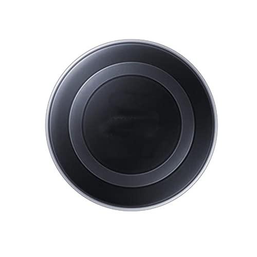 Pxbhd Original para la Almohadilla de Carga del Adaptador de Cargador inalámbrico S-AMSUNG para G-Alaxy S7 S6 Edge S8 S9 S10 Plus Note 4 5 para i-Phone 8 x XS XR MI 9 Cargo RÁPIDO