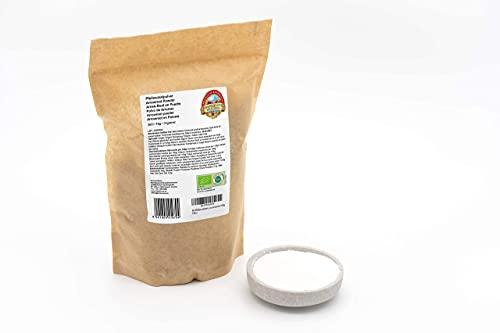Arrowroot Bio 1 kg Amido, fecola di Maranta in polvere, farina ispessisce, biologico, alta qualità, arrow-root 1000g