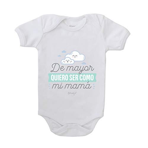 Body para bebé - De mayor quiero ser como mi mamá