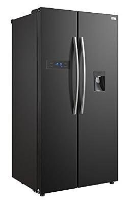 Russell Hobbs American Style Fridge freezer, 90cm wide, Side by Side, A+ efficiency, RH90FF176B- 2 Year Warranty**