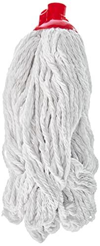 Testina ricambio Sistema Lavapavimenti, In cotone a filo continuo, bianco, 300 gr