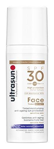 Ultrasun Face Tinted SPF30 Sonnenschutz-Gel, 1er Pack (1 x 50 ml)