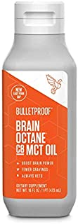 Bulletproof Brain Octane MCT Oil, Perfect for Keto and Paleo Diet, 100% Non-GMO Premium..